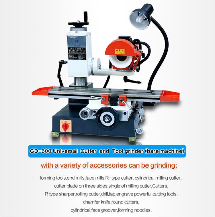 High Precision Tool And Cutter Grinding Machine Gd-600 Universal Tool  Cutter Sharpener Grinder Machine - Buy Tool And Cutter Grinding