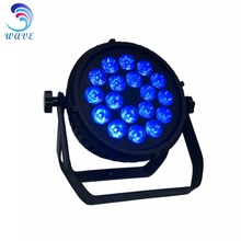 Color Changing Led 64 18*15w Rgbwa 5-in-1 Slim Led Flat Par Can