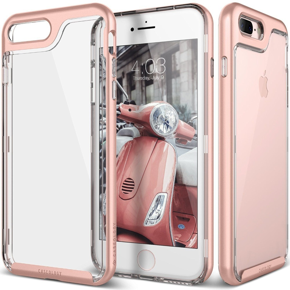 For iPhone 7 Plus Case Rose Skyfall Transparent Enhance Grip Cell Phone <strong>Accessories</strong>