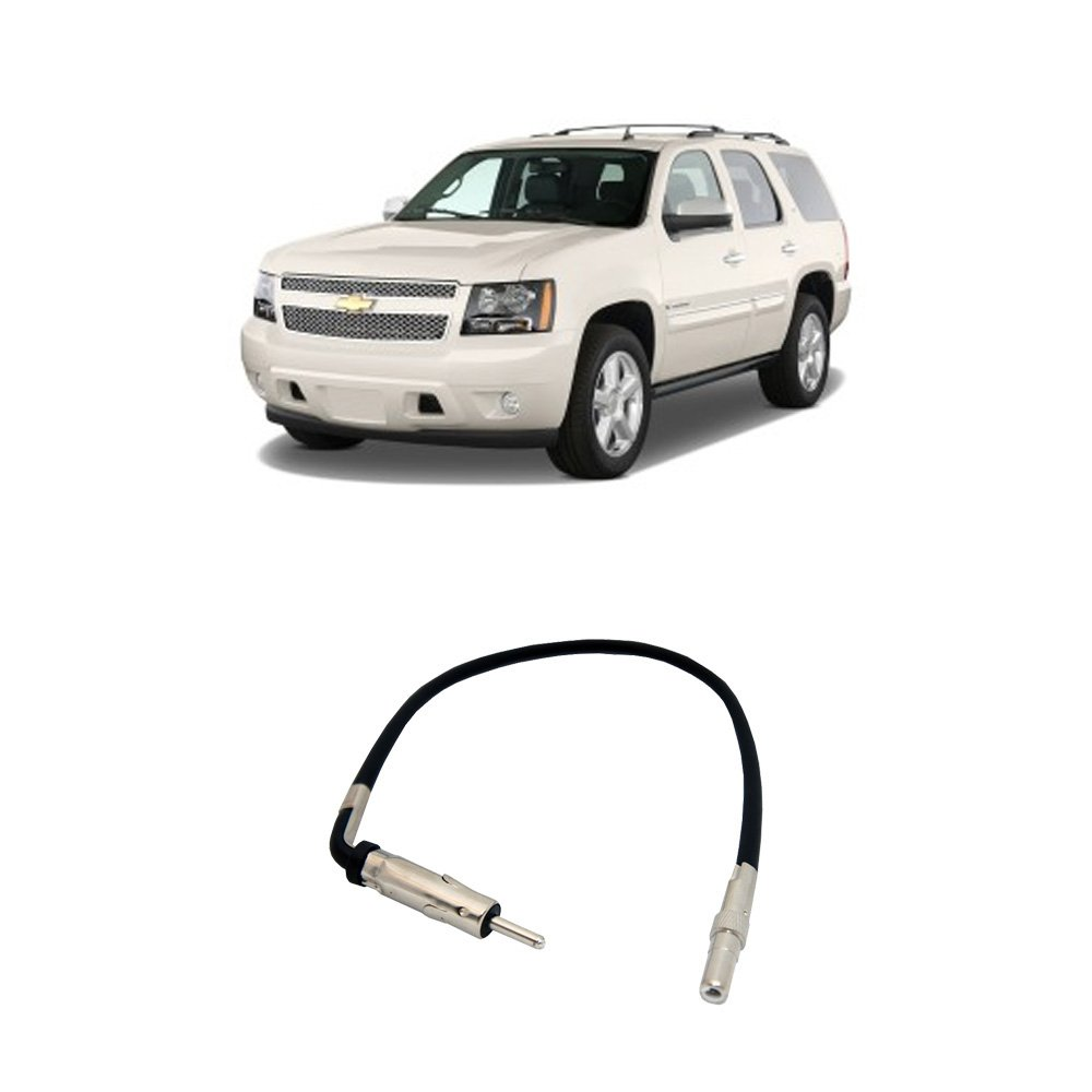 Get Quotations Fits Chevy Tahoe 2007 2017 Factory Stereo To Aftermarket Radio Antenna Adapter Plug
