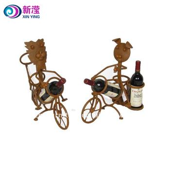 2018 Hot Sale Cute Animal Wine Rack Decorative Single Wine Bottle