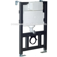 Pneumatic concealed flushing cistern with universal frame for wall-hung toilet from Xiamen, China