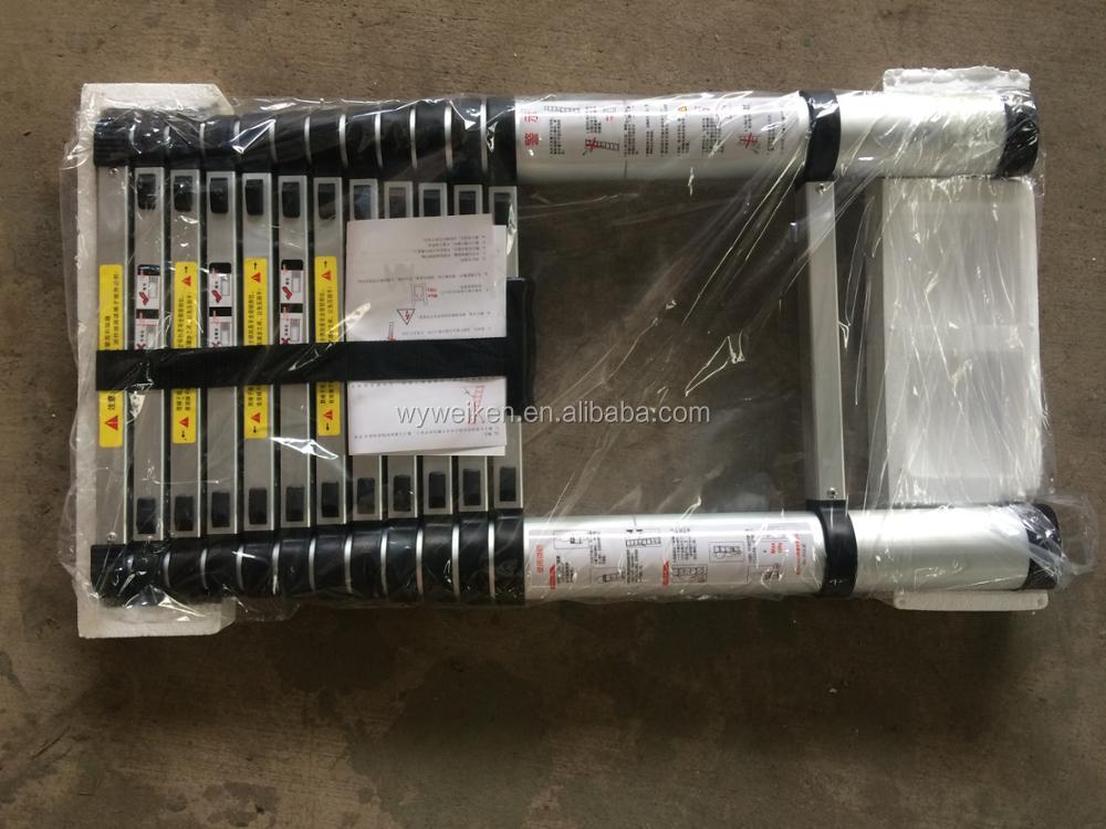 Heißer verkauf mt länge ft aluminium teleskopleiter buy