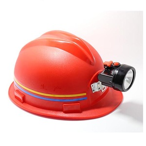 portable led underground safety mining helmet light