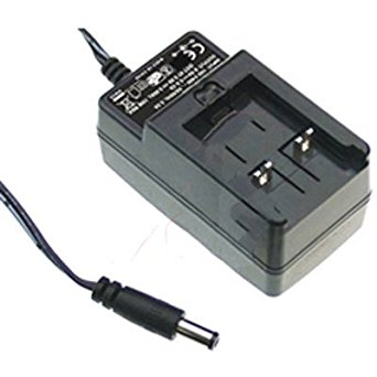 Mean Well GE24I24-P1J Power Supply AC-DC 24V@1A 95-264V In Enclosed Wall Plug Adapter GE Series