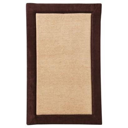 Magnificent Memory Foam Kitchen Mat, 20 X 32 inch, Bath Mat, Bedroom Mat, Non-slip Mat - Soft and stylish - Brown