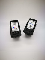 Trade assurance refillable ink cartridges PG240 CL241 compatible for CANON MX492 MG2420 IP2820