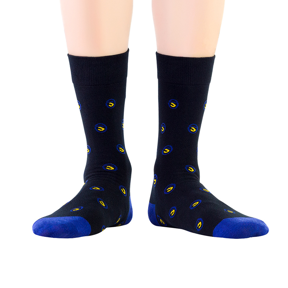 Japanese Alphabet Make Your Own Crew Socks Custom Mannequin