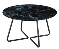 top quality marble table top replacement glass coffee table round
