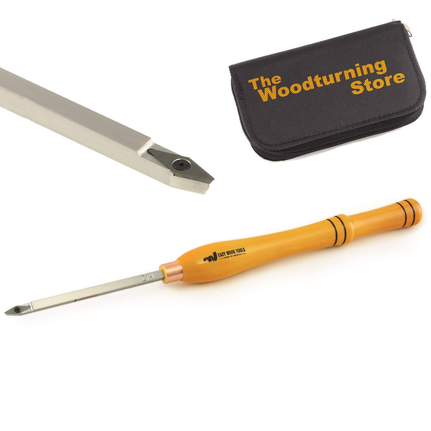 Easy Wood Tools, 7300, Mid-Size Easy Detailer with BONUS Woodturning Store Carbide Cutter Holder