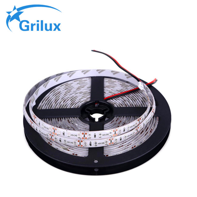 high lumens ip65 silicon gel waterproof 5d bar light smd2835 cct led strip for decoration