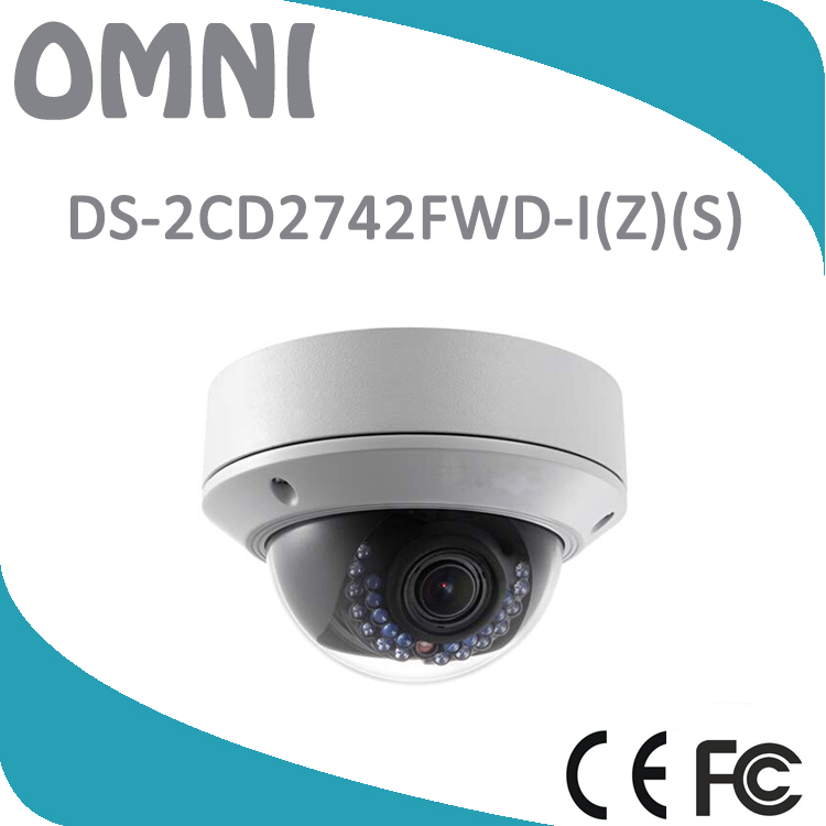 HIK DS-2CD2742FWD-IS H.264 4MP WDR Vari-focal Dome Network Camera