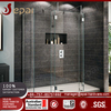 Free Standing Glass Shower Enclosure Simple Shower Room