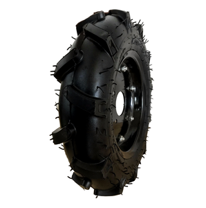4.00-10 agricultural tractor tyre and inner tube with iron rim wheel