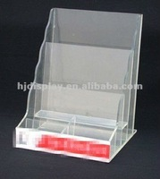 Acrylic Menu Display Stand Acrylic Postcard Display Acrylic Calendar Stand