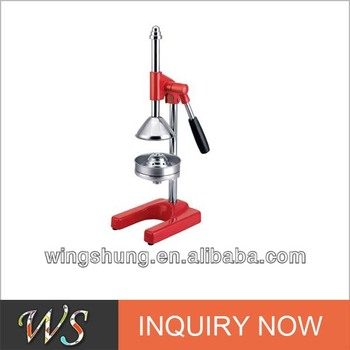 Ws Mg03 Large Commercial Manual Lever Press Orange Citrus