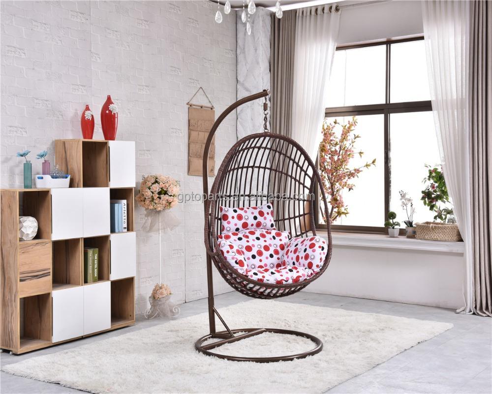 Jard n patio de rat n columpio al aire libre capullo silla for Silla columpio