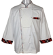 Man's standard collar contrast Chef Jacket Uniform