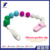 China Manufacturer Wholesale Safe Silicone Baby Pacifier Soother Chain Holder Clip