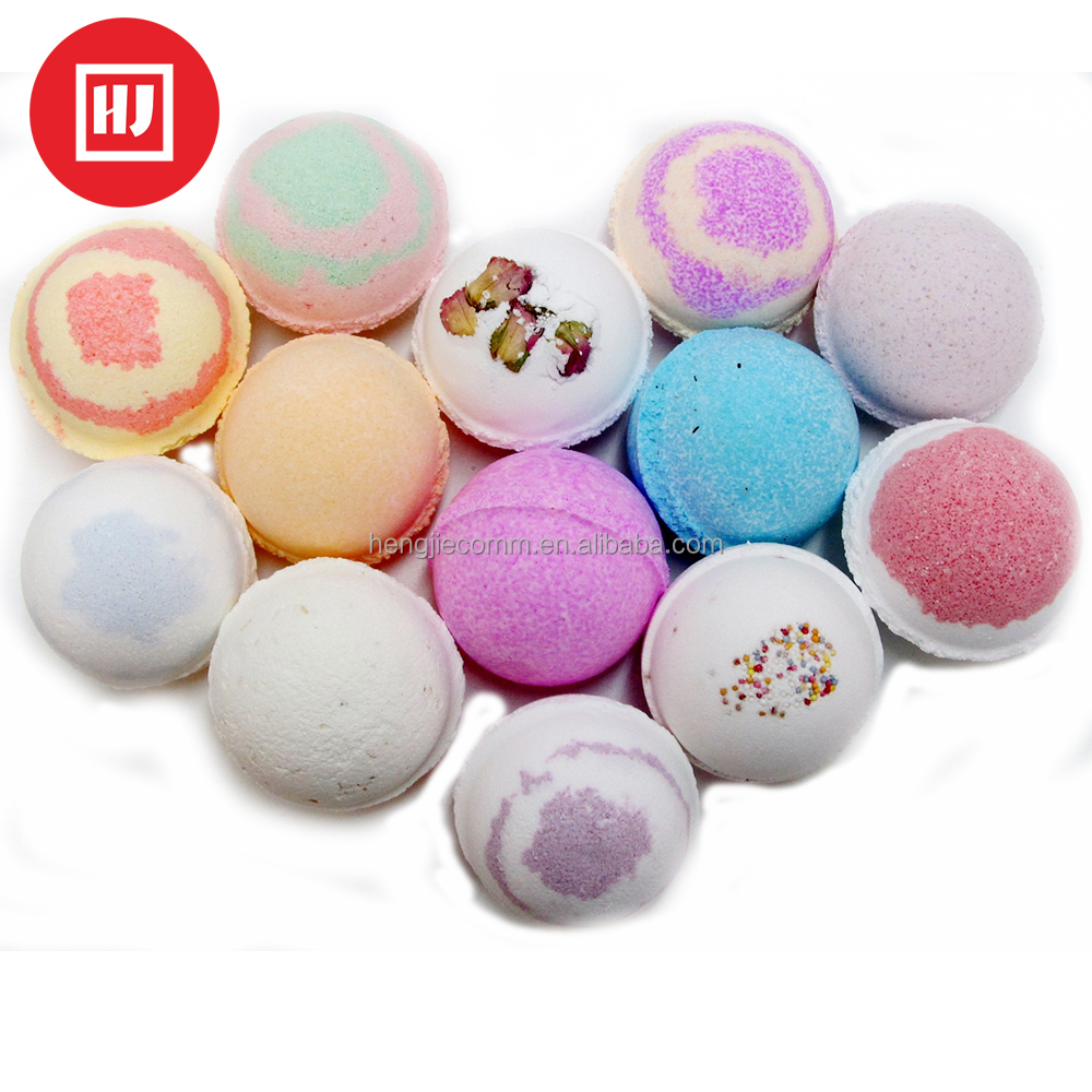 Natural flower Essential oil Bath Bomb for whitening
