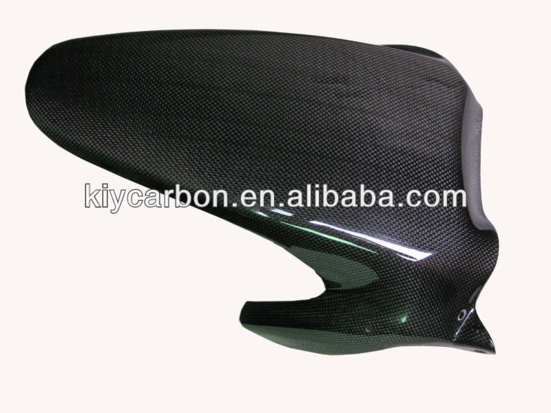 Carbon motorcycle rear mudguard for Kawasaki ZX6R