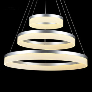 Decoration acrylic hanging led modern pendant light led chandelier acrylic pendant light fixtures restaurant hanging lighting