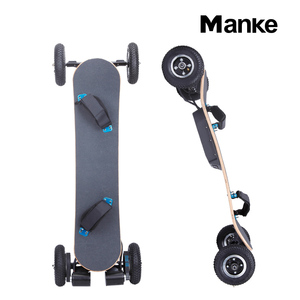 high quality off road electric mountain skateboard with dual motor 1650*2 Watt
