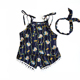 Wholesale boutique fashionable summer clothing set 2 pieces suit for baby girls