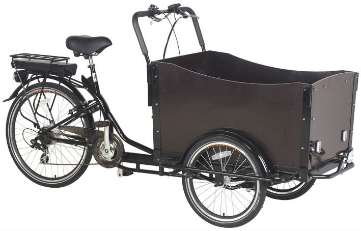 KB-C5013 Two wheel cargobike Nexus 6 speeds cargobike trike family cargo bike