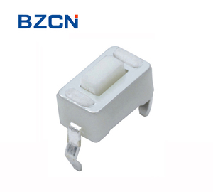 TS-B011 SMT/DIP 2 pin low profile 3.5*6mm tact switch momentary operation mounted in PCB plastic push button switch