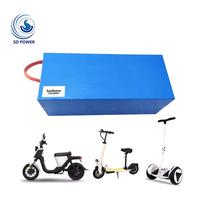 Electric Bicycle Lifepo4 72 Volts Lithium ion 72V 20AH 3000W Battery Pack for Electric Scooter