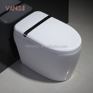 Chaozhou ceramic touch free urinal toilet with spray nozzle