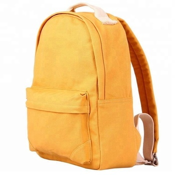 Outdoor wholesale promotional travel backpack canvas backpack bag