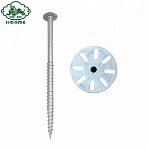 Solar Power System Galvanized Helical Ground screw