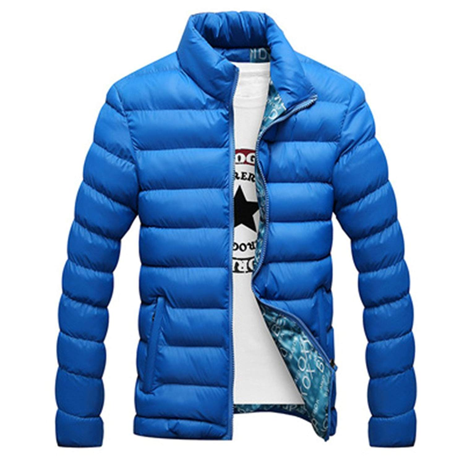FEIYUQII Winter Jacket New Casual Mens Jackets and Coats Thick Men Outwear