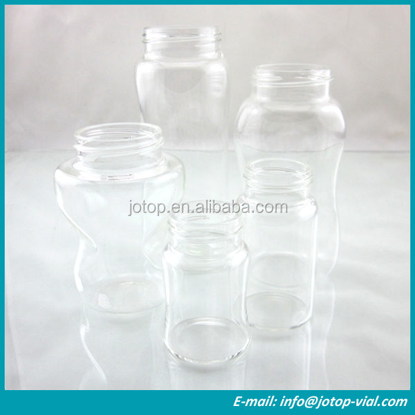China BPA Free High Borosilicate Glass Baby Feeding Bottle