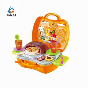 25pcs kids cooking play set toys,pizza indoor cooking toys