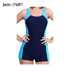 hot sale factory price spandex floating swim suit adult