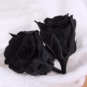 d26d85b75f2 Preserved flower black Roses Everlasting Roses, eternal black rose flower  for decoration