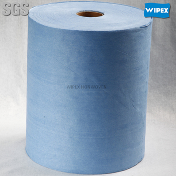 Eco-friendly cheapest most absorbent non woven fabric towel rolls