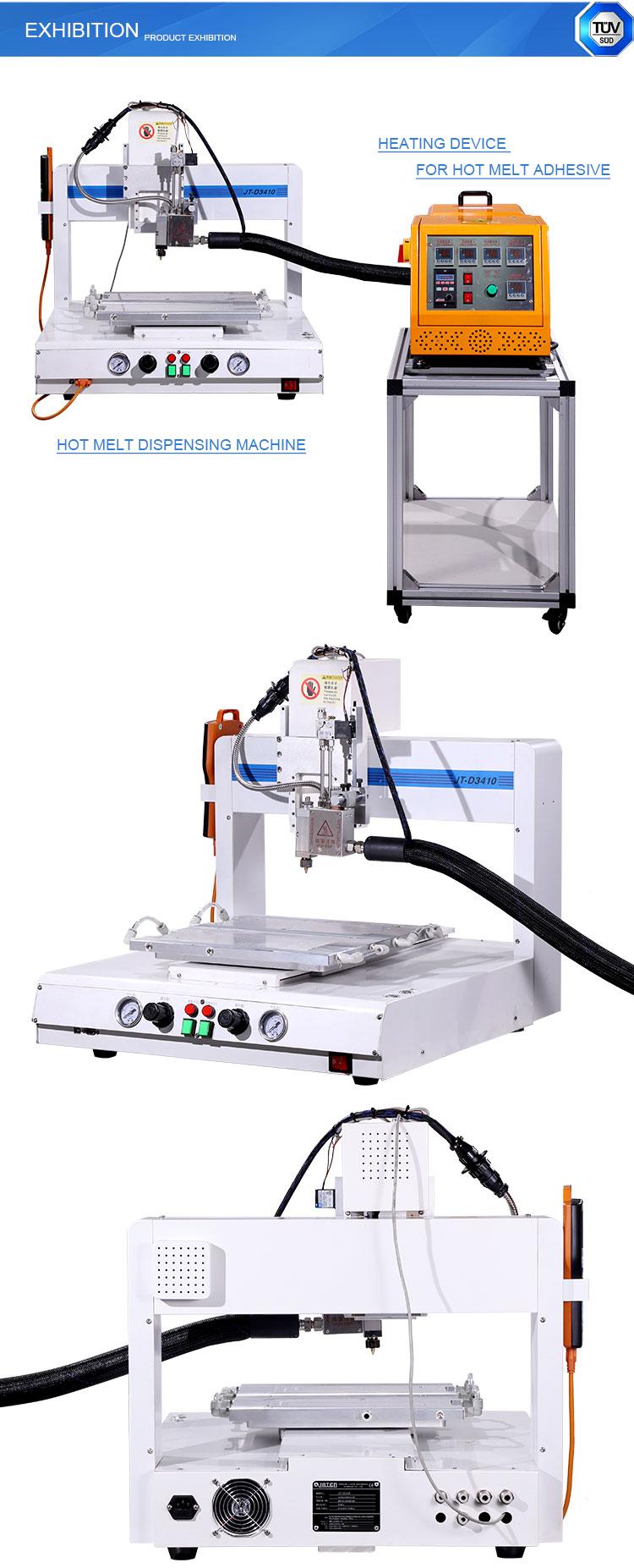 Table-top  Hot Melt UV Glue 3 Axis Dispensing Dispenser Machine