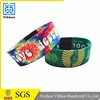 Top Quality Professional Made Elastic Woven Polyester Wristbands For Festival
