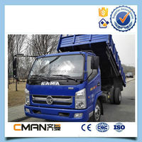 China Famous Brand Kama 3 Ton 4x2 Small Dump Truck For Sale - Buy ...