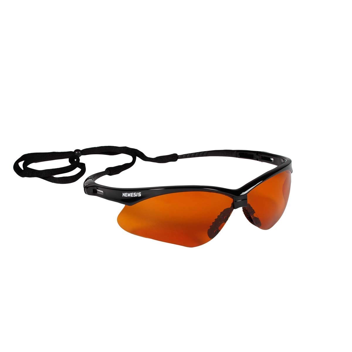 73edd4c3627 Get Quotations · Kimberly-Clark Professional Jackson Safety Nemesis Black Safety  Glasses With Brown Copper Blue Shield Hard