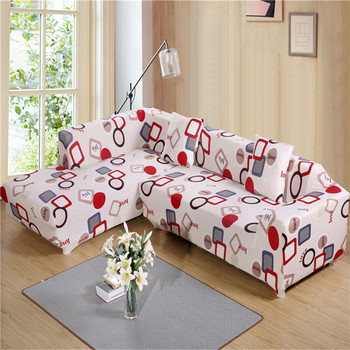 Unikea Geometric Polyester Elastic Sofa Cover Modern For Sectional Slipcover Couch Machine