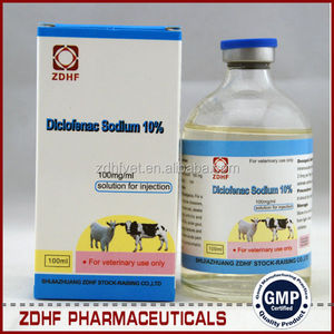 Antipyretic analgesics diclofenac sodium injection for Cattle Sheep