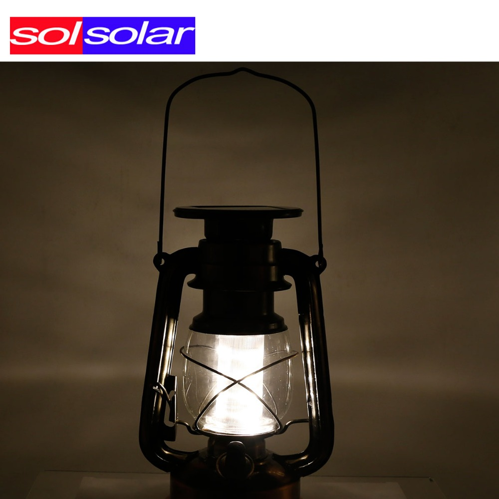 Solar Garden Light Lantern: LED Solar Lantern Classic Solar Power Led Solar Light