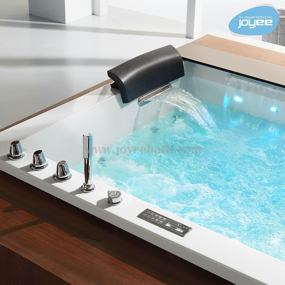 J-b653 Black Marble Bathtub Indoor Spa Cheap Small Bathtub Whirlpool ...