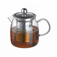 TCP-P003 Tea Pot And Kettle Set,Chinese Borosilicate Glass Tea Kettle,1.5l Tea Coffee Pot