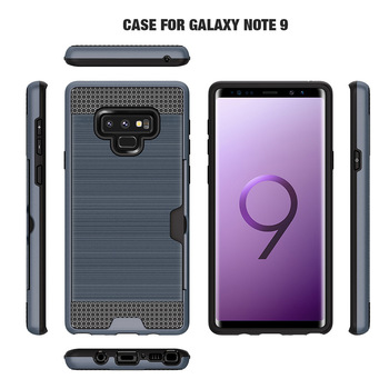 pretty nice 13a90 62ae6 For Samsung Galaxy Note 9 Heavy Duty Armor Case - Buy Tpu Pc Card Slot  Brush Hybrid Heavy Duty Phone Case Cover For Samsung Note 9,Mobile Phone  Cover ...